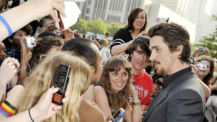 Public Enemies Chicago premiere 2009 Christian Bale
