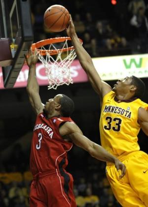 Armelin's 20 lead Minnesota past Nebraska 81-69