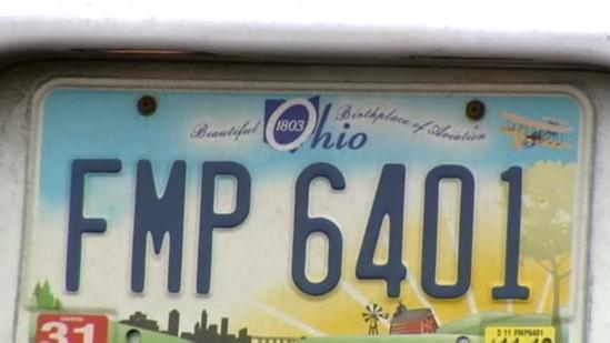 Ohio proposal would require new plates every 7 years