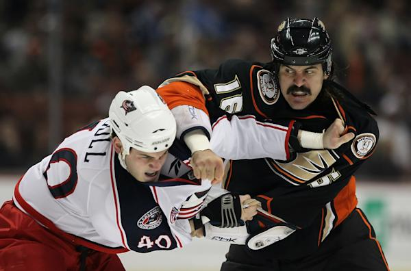 George Parros College George Parros Announced His