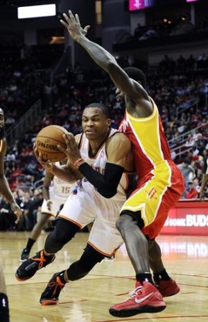 Harden scores 46, Rockets rally past Thunder