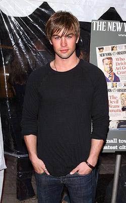 Chace Crawford at the New York premiere of The Weinstein Company's The Hunting Party