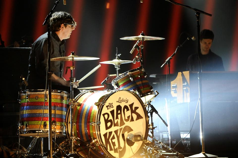The Black Keys perform at Spike TV's Video Game Awards on Saturday, Dec. 10, 2011, in Culver City, Calif. (AP Photo/Chris Pizzello)