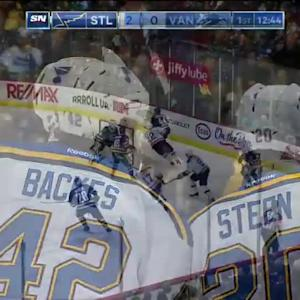 St. Louis Blues at Vancouver Canucks - 03/01/2015