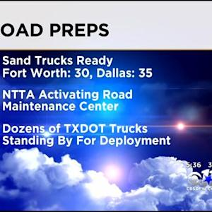 Road Crews Ready For Winter Weather Blast