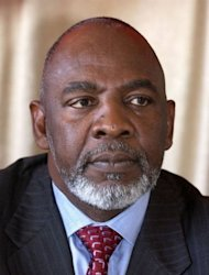 Cheick Modibo Diarra, a former astrophysicist who served as Microsoft's chairman for Africa, pictured here in 2004, was named as interim prime minister