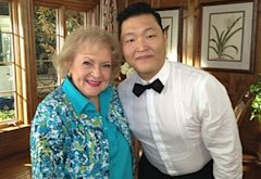 Betty White, Psy | Photo Credits: NBC