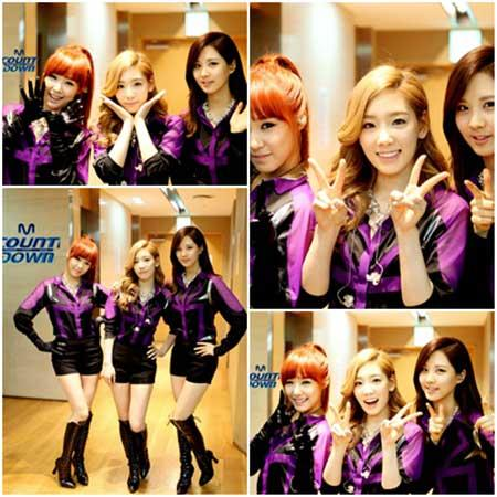 Taetiseo Waits Behind Stage for Debut Performance on Mnet's 'M Countdown'