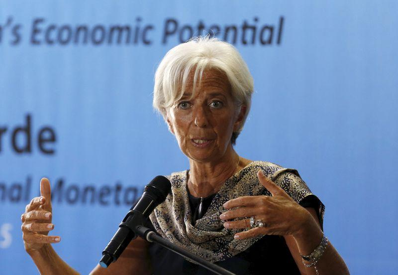 IMF's Lagarde warns of spillover risks from recent volatility