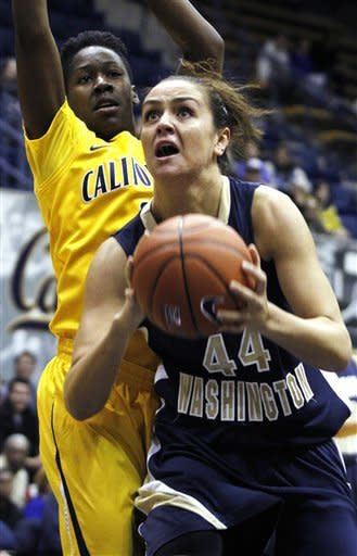 No. 8 Cal women beat GW 70-43 to move to 10-1