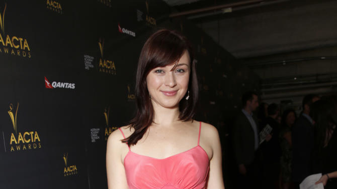 Robin McLeavy attends the Australian Academy Of Cinema And Television Arts' 2nd AACTA International Awards at Soho House on January 26, 2013 in West Hollywood, California. (Photo by Todd Williamson/Invision/AP Images)