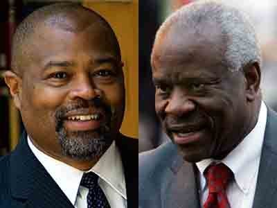Clarence Thomas and Kevin Brown