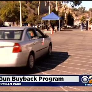 LAPD Holds Annual Gun Buyback Program