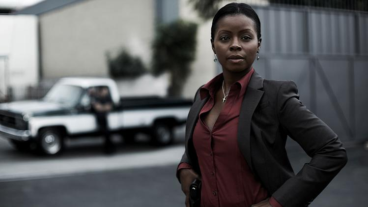 "Erica Tazel stars as Rachel Dupree in ""Justified."""