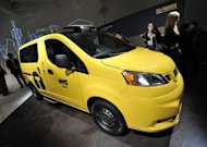 The Nissan NV200, New York&#39;s Taxi of Tomorrow is unveiled April 3, 2012 in New York. The NV200 will be the exclusive New York City taxi vehicle starting in 2013