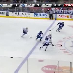 Lightning at Maple Leafs / Game Highlights