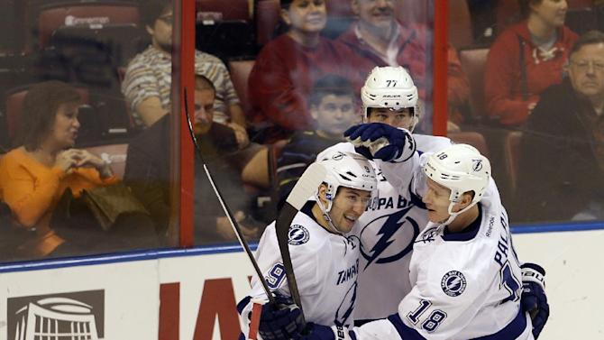 Lightning rout Panthers 6-1; win streak now at 5
