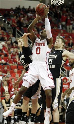 No. 23 NC State beats W. Michigan 84-68