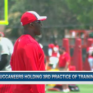 A look at Tampa Bay Buccaneers training camp