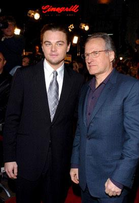 Leonardo DiCaprio and producer Michael Mann at the Hollywood premiere of Miramax Films' The Aviator