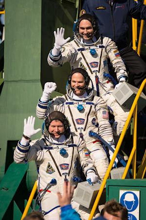 Soyuz Capsule Chasing Space Station for Thursday Rendezvous