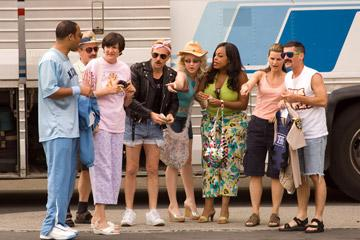 Cedric Yarbrough , Carlos Alazraqui , Kerri Kenney-Silver , Thomas Lennon , Wendi McLendon-Covey , Niecy Nash , Mary Birdsong and Robert Ben Garant in 20th Century Fox's Reno 911: Miami