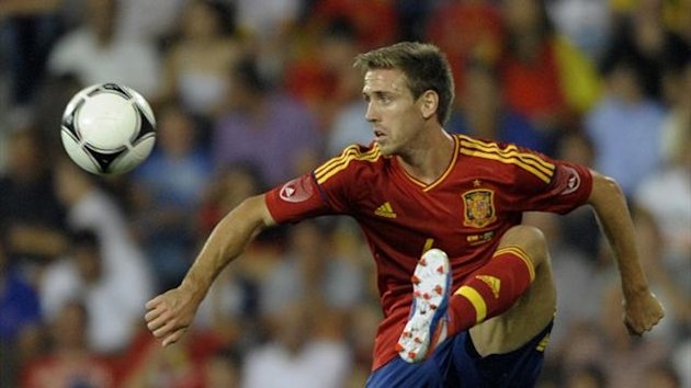 Nacho Monreal, Spain (AFP)