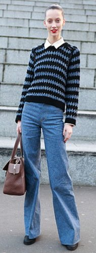 Top 13 Denim Trends For Fall 2012 Work-Appropriate Trouser