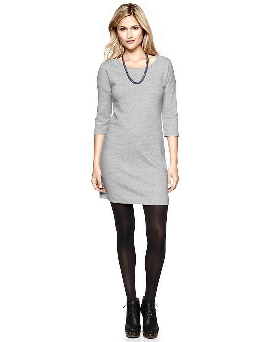 Terry Sweatshirt Dress