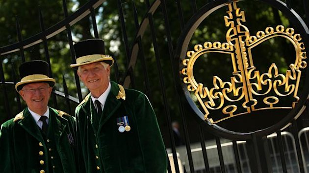 Royal Ascot gates (PA Photos)