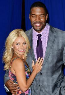 Kelly Ripa and Michael Strahan | Photo Credits: James Devaney/WireImage