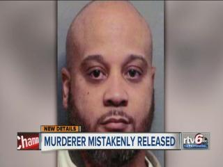 Authorities explore how convicted murderer was mistakenly released