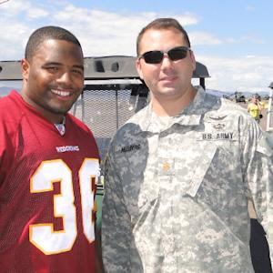 Salute to Service: Washington Redskins fullback Darrel Young