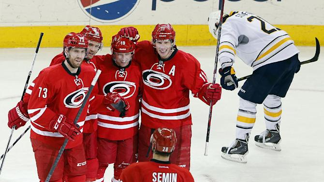 Hurricanes rally to beat Sabres 4-2