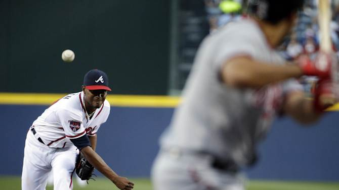 Upton lifts Braves past Nats 7-6 in 10 innings