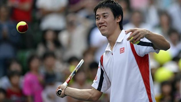 Kei Nishikori siegt in Tokio