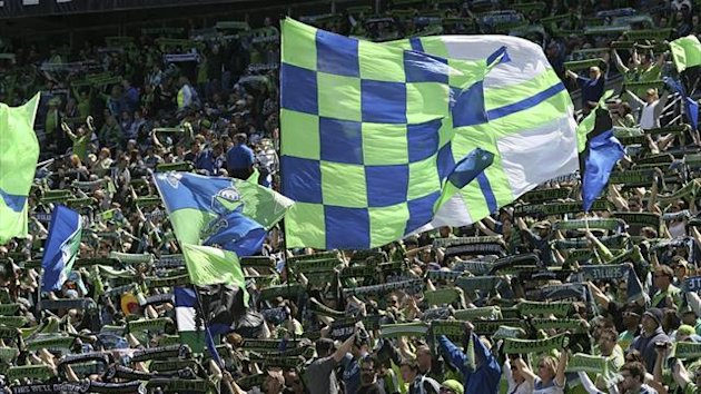 Fans of MLS side the Seattle Sounders (AFP)
