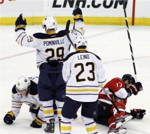 Ennis lifts Sabres to 4-3 SO win over Senators