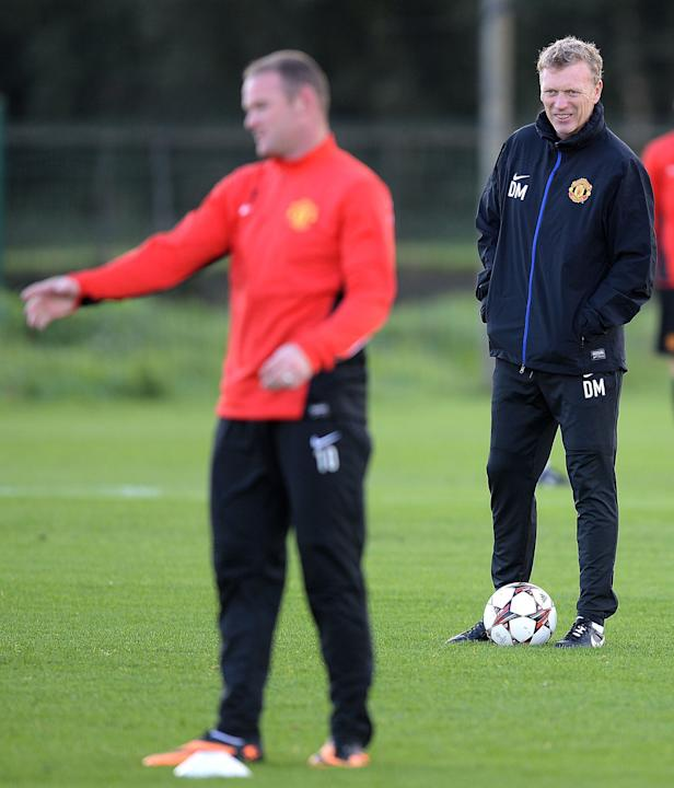 Soccer - David Moyes and Wayne Rooney File Photo