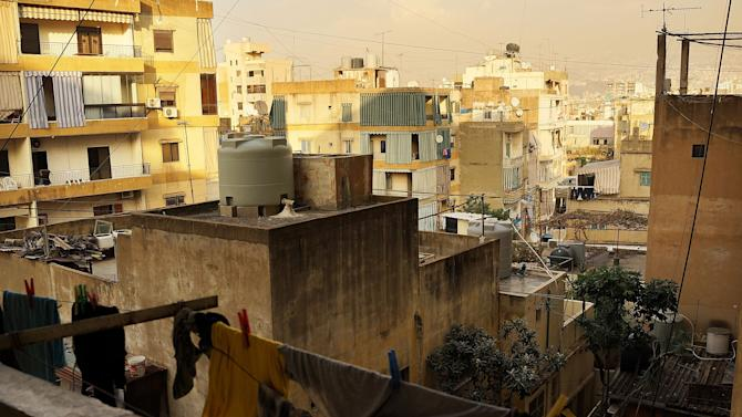Syrian Refugees Migrate To Beirut To Escape Violence