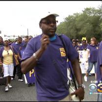 Union Members Celebrate Labor Day With Columbus Boulevard Parade
