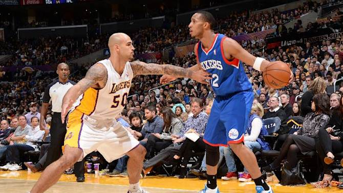 Sixers snap 13-game road skid, beat Lakers 111-104