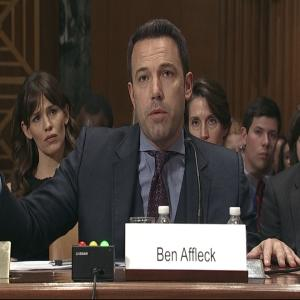 Affleck, Gates Urge Foreign Aid Funding