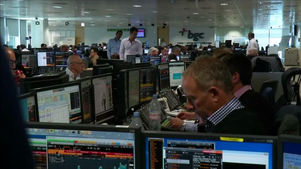 Bloomberg terminals black out