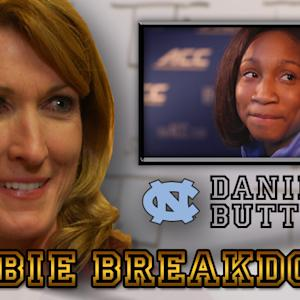 UNC Star Danielle Butts' Playmaking Ability | Debbie Breakdown