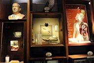 Artifacts from an exhibition are displayed before the official opening of the Museum of Innocence in Istanbul. The museum has 23 display cases -- each representing a chapter of the book