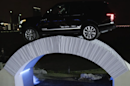 Watch a Range Rover drive over a bridge made entirely of paper