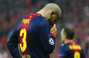 Pique rues better, faster, and stronger Bayern