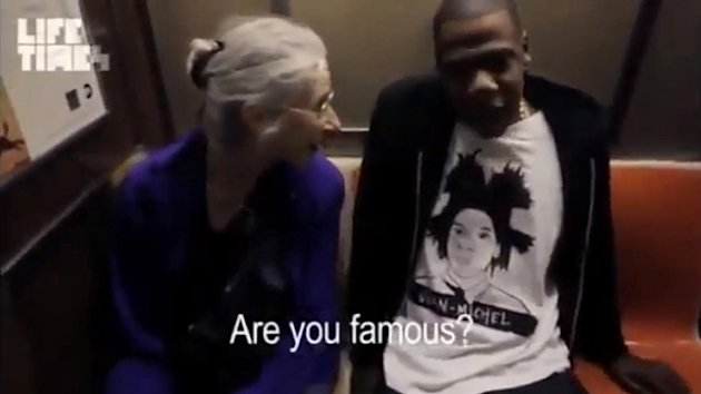 Jay-Z Goes Unrecognized on Subway (ABC News)