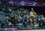 Jamaica's Veronica Campbell-Brown competes in the women's 200m semi-finals at the London Olympics on August 7. Campbell-Brown will attempt an unprecedented Olympic treble on Wednesday as controversial South African 800m runner Caster Semenya makes her long-awaited Games debut